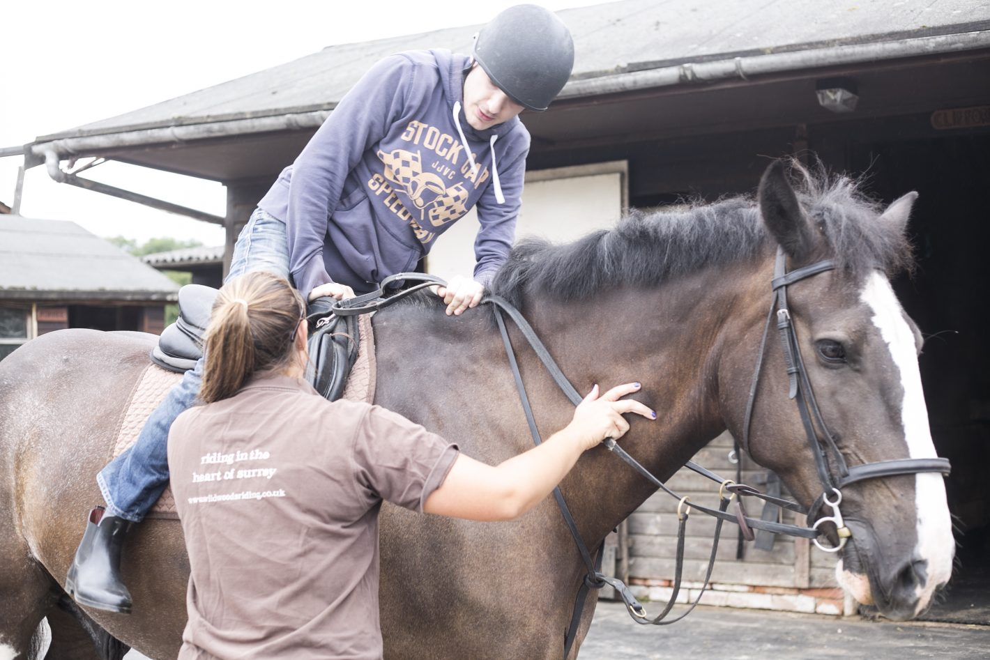 Horse riding lessons in Surrey for Adults and Children